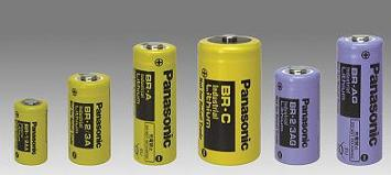 Poly-carbonmonofluoride lithium batteries(BR series)